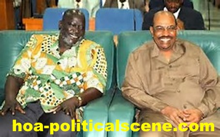 hoa-politicalscene.com/john-garang-to-sadiq-al-mahadi.html - John Garang to Sadiq al Mahadi: Garang & the Sudanese dictator Omer al-Bashir. One is factual dictator and the second was in the making.