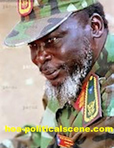 hoa-politicalscene.com/john-garang-to-sadiq-al-mahadi.html - John Garang to Sadiq al Mahadi: Garang the Sudanese rebel leader.