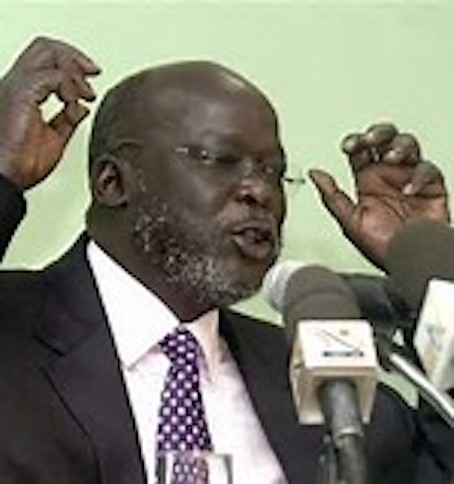 hoa-politicalscene.com/john-garang-to-sadiq-al-mahadi.html - John Garang to Sadiq al Mahadi: Garang speaking to the international media.