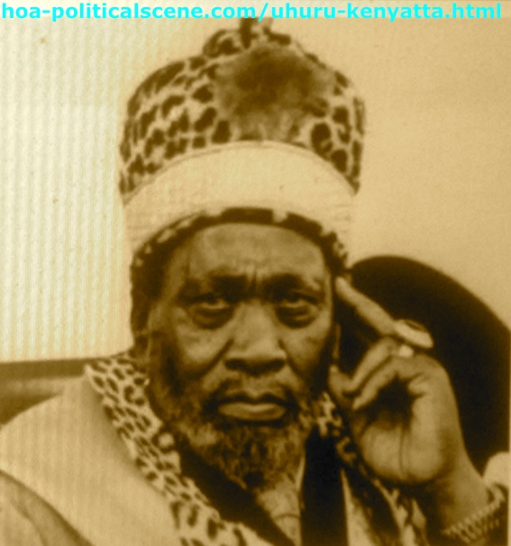 Uhuru Kenyatta is the Son of Jomo Kenyatta, The First Kenyan President