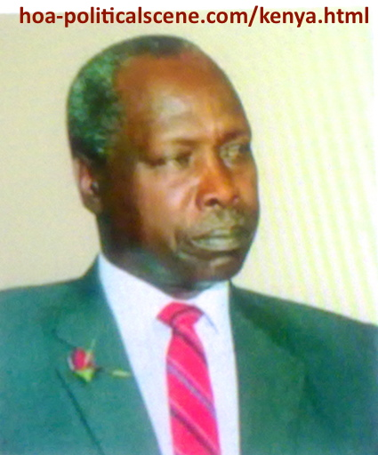 hoa-politicalscene.com - Kenya: Daniel Arap Moi, the second president of Kenya, a picture from the archives.
