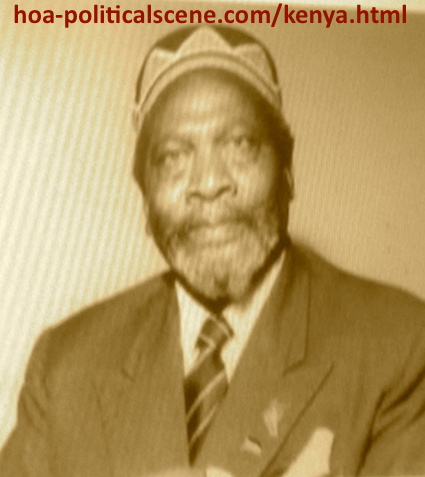 hoa-politicalscene.com - Kenya: Jomo Kenyatta, the first president of Kenya, a picture from the archives.