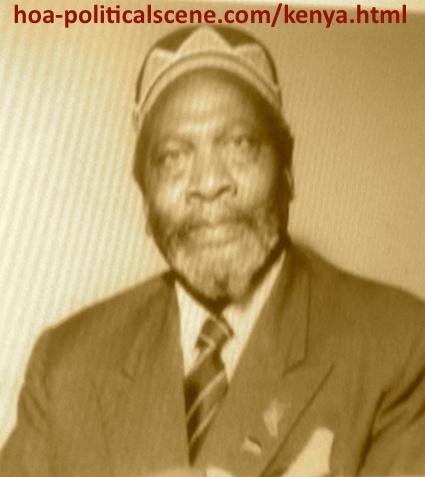 hoa-politicalscene.com - Kenya: Jomo Kenyatta, the first president of Kenya, a picture from the archives.