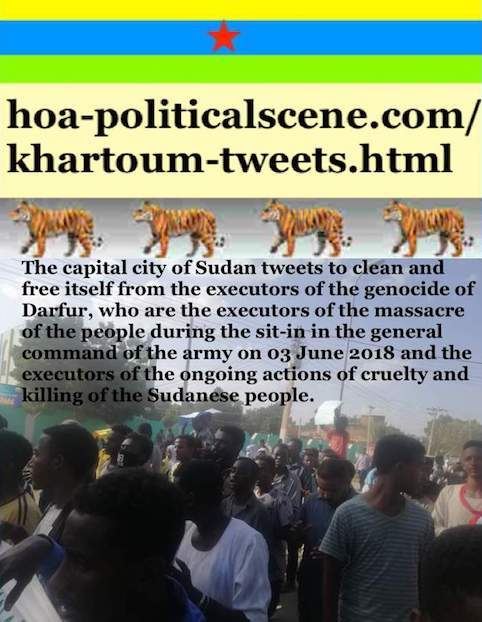 hoa-politicalscene.com/khartoum-tweets.html: Khartoum Tweets: A political quote by Sudanese columnist journalist and political analyst Khalid Mohammed Osman in English 797.