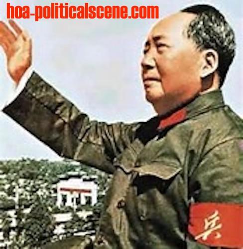 Mao Tse-tung in an article at hoa-politicalscene.com/mao-tse-tung.html by journalist Khalid Mohammed Osman.