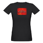 Organic HOA's Refugee Womens T-Shirt (dark)