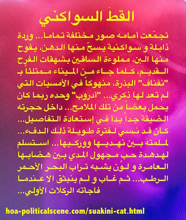 Short Story in Pictures by Khalid Mohammed Osman.