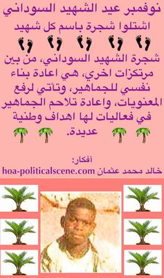 Sudanese Martyrs' Plans Comments 11!