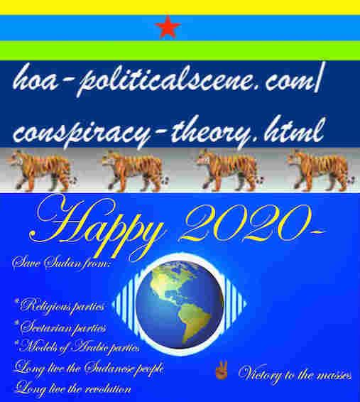 hoa-politicalscene.com/sudanese-nile-tweets.html: Sudanese Nile Tweets: on New Year 2020 by Sudanese columnist journalist and political analyst Khalid Mohammed Osman in English 811.