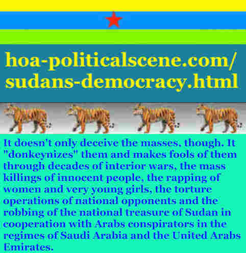 hoa-politicalscene.com/sudans-democracy.html - Sudans Democracy: A political quote by Sudanese columnist journalist and political analyst Khalid Mohammed Osman in English 2.