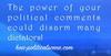 HOA Political Scene Political Quote - تدمير الشخصية السودانية: