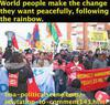 hoa-politicalscene.com/invitation-to-comment143.html - Invitation to Comment 143: 지적 점화: World people make the change they want peacefully, following the rainbow.