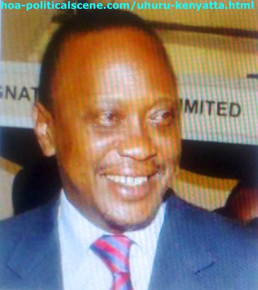 Uhuru Kenyatta, The Fourth Kenyan President