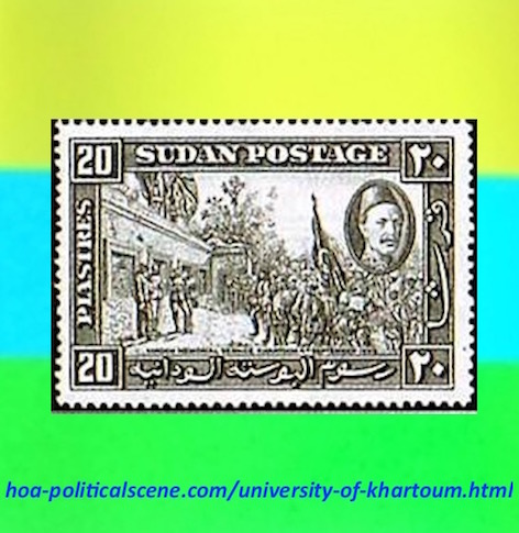 hoa-politicalscene.com/university-of-khartoum.html - University of Khartoum: was Gordon College when it was first built as memorial educational institution for general Charles Gordon.