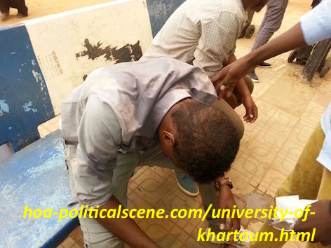 hoa-politicalscene.com/university-of-khartoum.html - University of Khartoum: Students injured and poisoned by gas from the security agents in hospital.