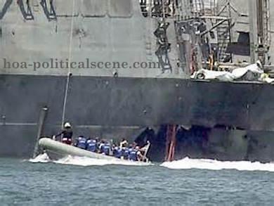 HOA Political Scene - WhatsApp Reuters News Chat: USS Cole terrorist attack on Aden Gulf.
