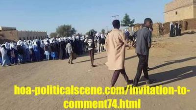 Invitation to Comment 74: Sudanese December 2018 Revolution 81.