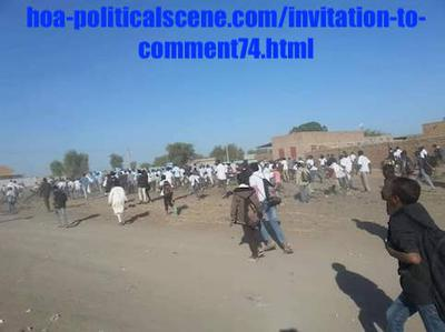 Invitation to Comment 74: Sudanese December 2018 Protests 82.