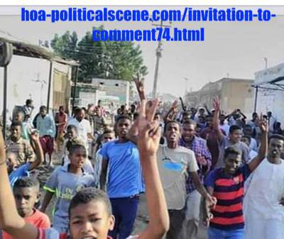 Invitation to Comment 74: Sudanese December 2018 Uprising 83.