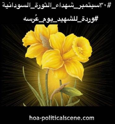 hoa-politicalscene.com - Sudanese Martyr's Tree Comments: #شجرة_الشهيد_السوداني و #يوم_الشهيد_السوداني combined as revolution_dynamics by #Sudanese_journalist #Khalid_Mohammed_Osman.