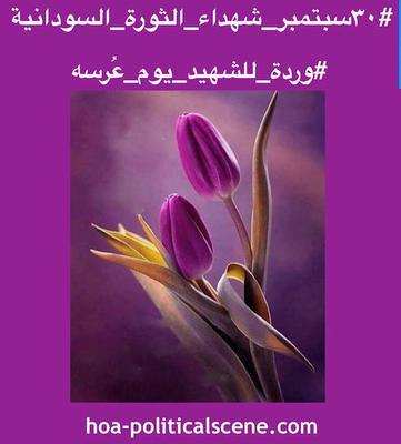 hoa-politicalscene.com - Sudanese Martyr's Tree Comments: ideas of #شجرة_الشهيد_السوداني و #يوم_الشهيد_السوداني created by #Sudanese_journalist #Khalid_Mohammed_Osman.