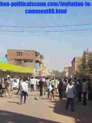 Invitation to Comment 80: Sudanese December 2018 Revolution 133.