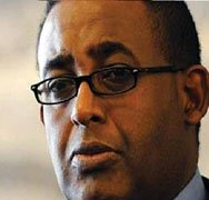 Omer Abdul Rashid Ali Sharmarke, Somali Prime Minister
