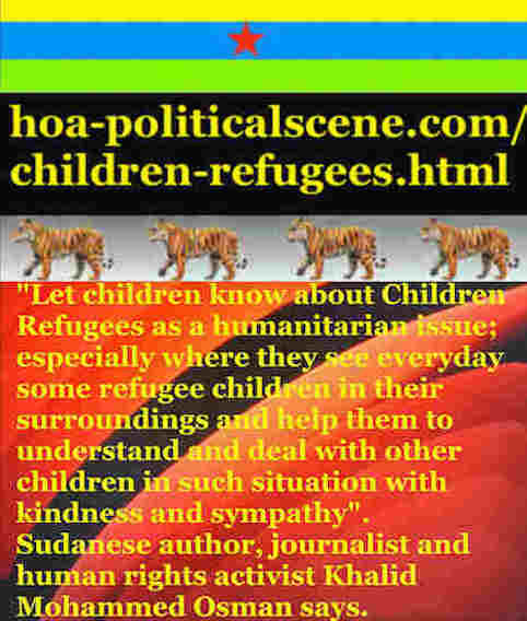hoa-politicalscene.com/children-refugees.html - Children Refugees: Teach your children how to respect new comers who are the UN refugees and how to deal with them Kindly.