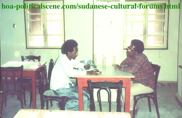 Sudanese Cultural Forums: Cultural Interview with Sudanese Sculptor Abu Alhassan Madani.