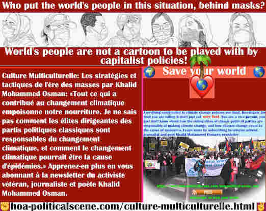 hoa-politicalscene.com/culture-multiculturelle.html - Culture Multiculturelle: Tout ce qui a contribué au changement climatique empoisonne notre nourriture. Enquêtez sur votre nourriture et abattez