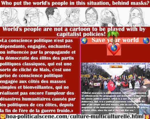 hoa-politicalscene.com/culture-multiculturelle.html - Culture Multiculturelle: La conscience politique n'est pas dépendante, engagée, enchantée ou influencée par la propagande des élites des partis