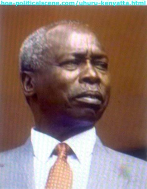 Daniel Arap Moi, the Second Kenyan President