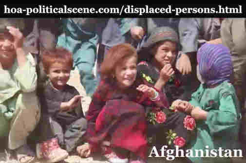 hoa-politicalscene.com/displaced-persons.html - Displaced Persons: Afghani displaced people, since the crises of the intervention during the Cold War and the confrontation with the USSR.