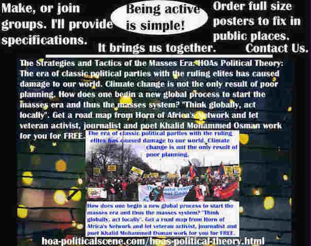hoa-politicalscene.com/classic-political-systems.html - Strategies & Tactics of Masses Era: Classic Political Systems: Classic political parties' ruling elites' era has caused damage to our world.
