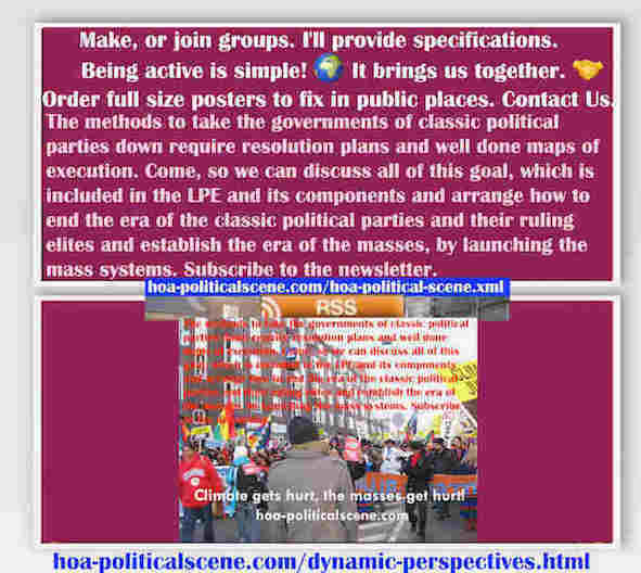 hoa-politicalscene.com/dynamic-perspectives.html - Strategies & Tactics of Masses Era: Dynamic Perspectives: Methods to take classic political parties Govs down require resolution plans.