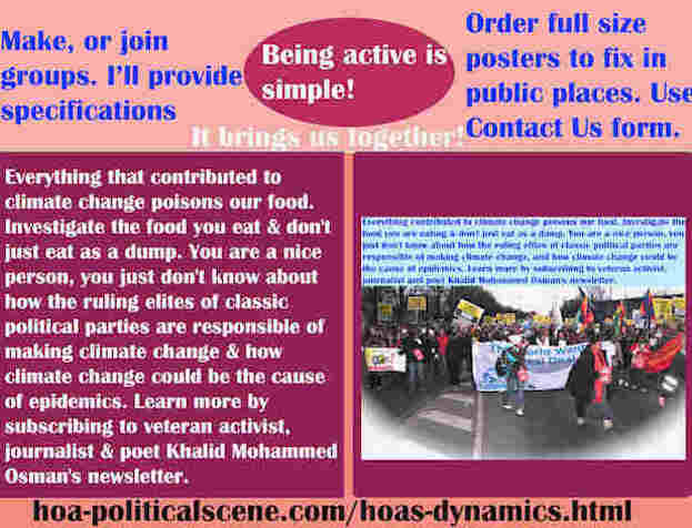 hoa-politicalscene.com/hoas-dynamics.html - The Strategies and Tactics of HOA's Dynamics: Everything contributed to climate change poisons our food. Investigate the food you are eating ...