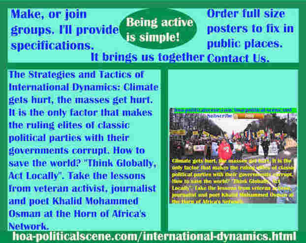 hoa-politicalscene.com/international-dynamics.html - Strategies & Tactics of International Dynamics: Climate gets hurt, the masses get hurt. It is the only factor that makes the RE of CPP corrupt.