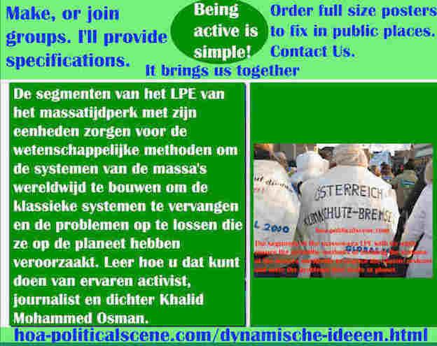 hoa-politicalscene.com/dynamische-ideeen.html - Dynamische ideeën: De segmenten van het LPE van het massatijdperk met zijn eenheden zorgen voor de wetenschappelijke methoden om de systemen...