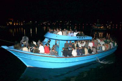 Eritrean Refugees trying to get to safety through danger, because there is more dangers at home!