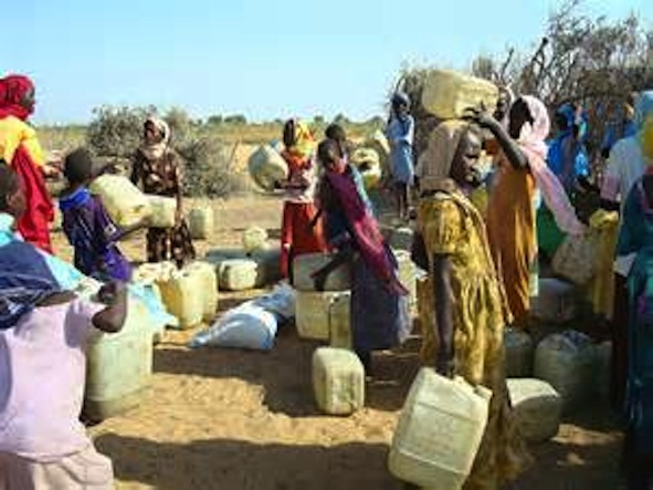 Darfur Crisis: Fur Women Looking for Water on the Surface While Their Entire Darfur Region Sits on A Hidden Sweat Water Lake.