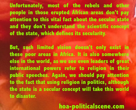 hoa-politicalscene.com - Lords Resistance Army: The State is a Secular Concept.