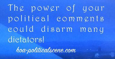 hoa-politicalscene.com/political-inspiration.html - Political Inspiration: Political inspirational quote by journalist Khalid Mohammed Osman. Khalid Muhammed Osman also wrote many inspirationals.
