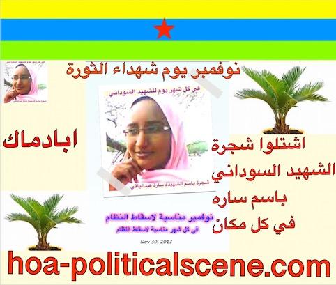 hoa-politicalscene.com/sudanese-martyrs-plans.html - Sudanese Martyrs' Plans - #dynamic_idea of the #Sudanese_journalist #Khalid_Mohammed_Osman.
