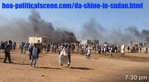 hoa-politicalscene.com/da-shino-in-sudan.html: Da Shino in Sudan: Sudanese people demonstrations in December 2018. Constitutional means are necessary before hand.