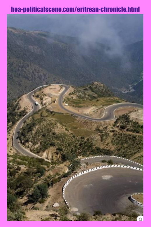 hoa-politicalscene.com/eritrean-chronicle.html - Eritrean Chronicle: Asmara - Massawa old road.
