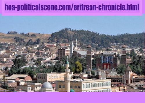 hoa-politicalscene.com/eritrean-chronicle.html - Eritrean Chronicle: Asmara overlook... Beautiful Eritrean view from the capital of Eritrea, Asmara.