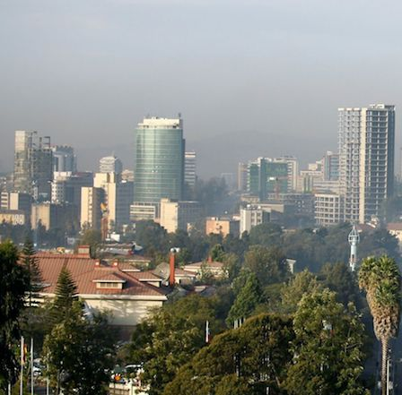 hoa-politicalscene.com/ethiopia-country-profile.html - Ethiopia Country Profile: Beautiful view from Addis Ababa, Ethiopian capital city. Beautiful places are at 100-beautiful-sites-in-the-world.com.