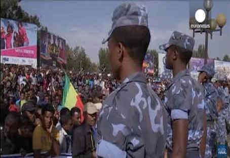 hoa-politicalscene.com/ethiopian-political-problems.html - Ethiopian Political Problems: Ethiopian protesters clash with Ethiopian police over Ethiopian citizens killed by ISIL in Libya.