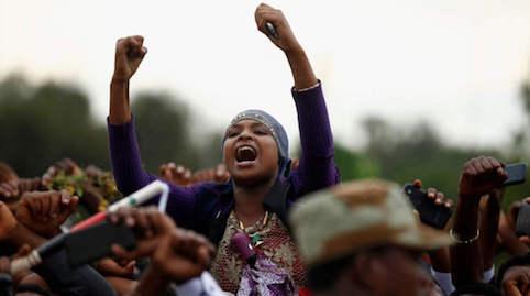 hoa-politicalscene.com/ethiopian-political-problems.html - Ethiopian Political Problems: Oromo protesting in Oromia, Ethiopia to stop the injustice in Ethiopia.