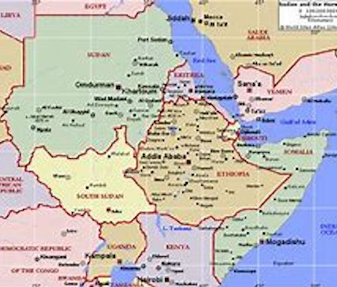 hoa-politicalscene.com/horn-africas-bulletins.html - Horn Africas Bulletins - Horn Africa's Map.